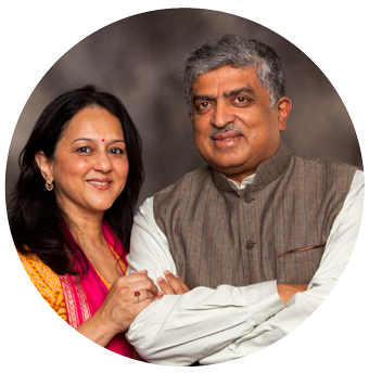 Rohini and Nandan Nilekani serve as advisors to Aastar and bring a wealth of experience and thought leadership.