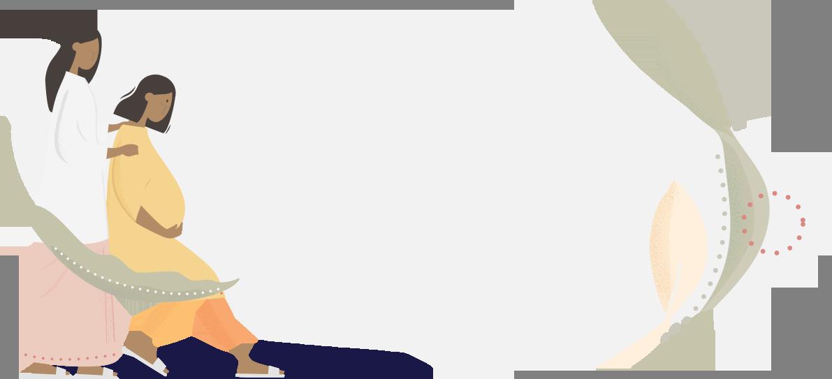 Midwifery centre - graphic