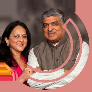 Rohini & Nandan Nilekani